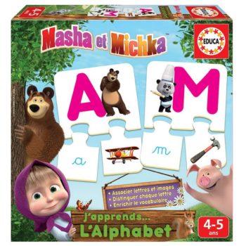 jeu eveil educatif masha et michka cadeau noel anniversaire pas cher