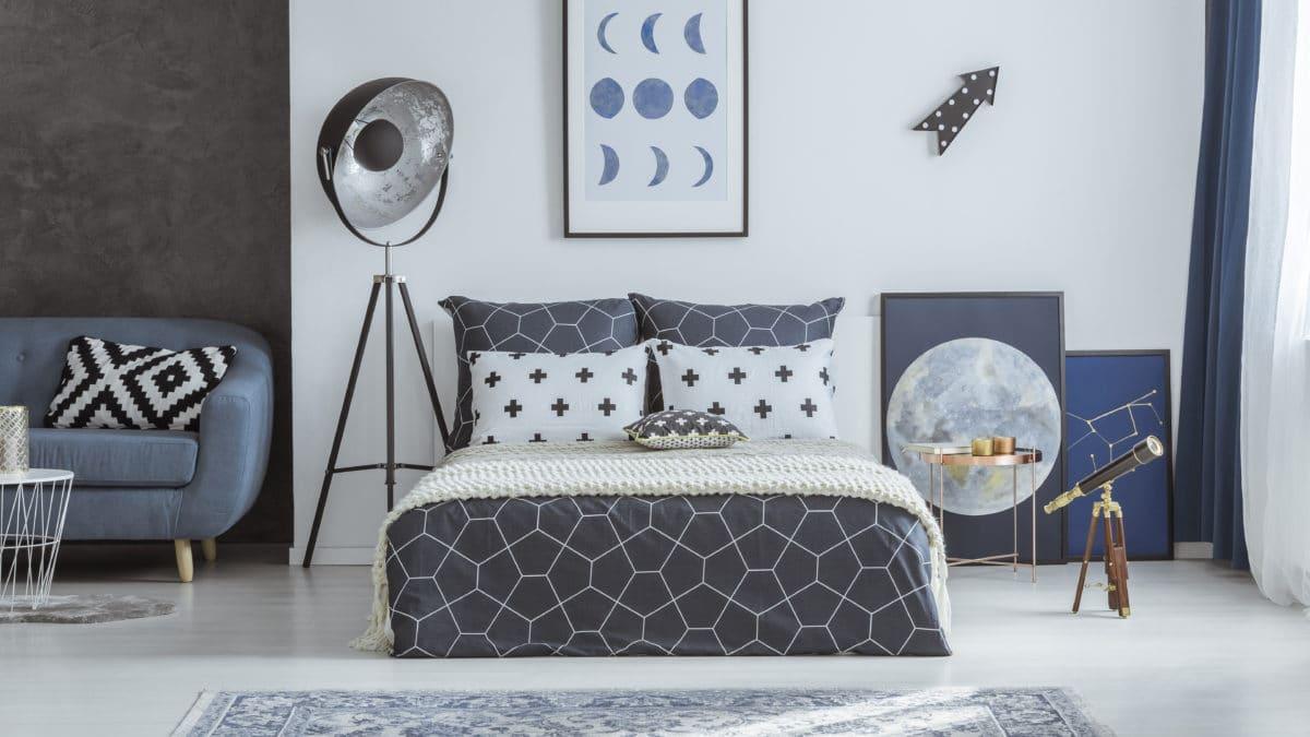 Parure et housse de couette, linge de lit ado 220 x 240 : housses de couette pas chères pour lit d'ado