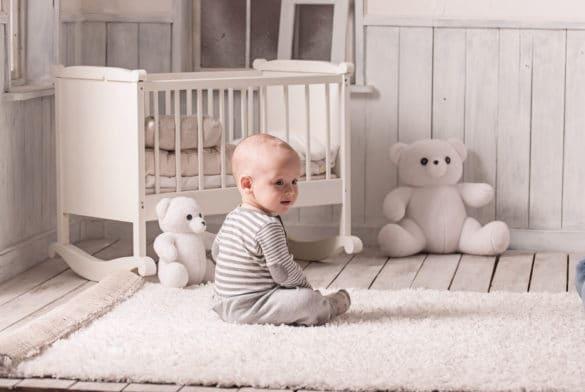 tapis pour chambre de bébé