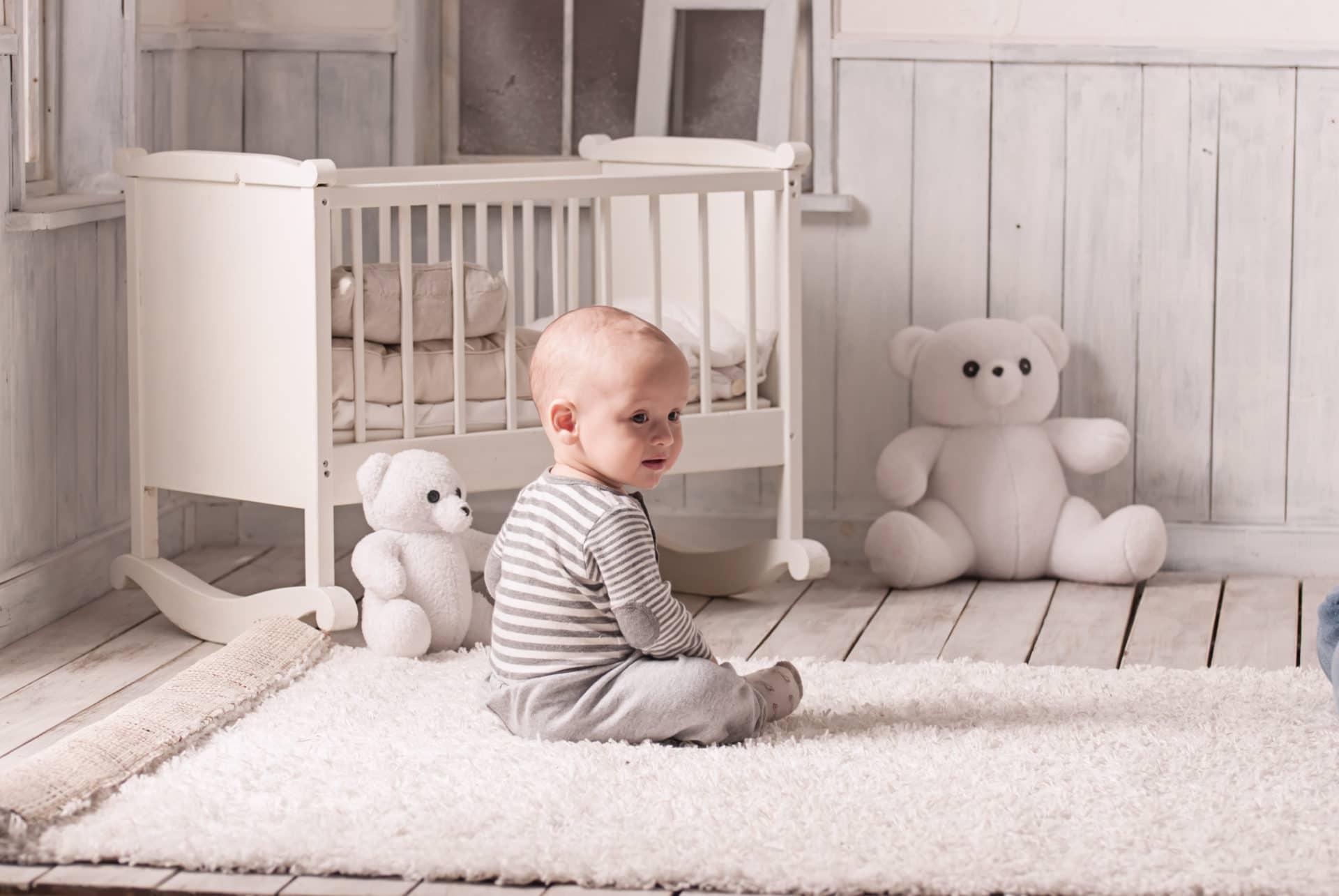 tapis pour chambre de bébé et enfant : tapis de sol et décoration