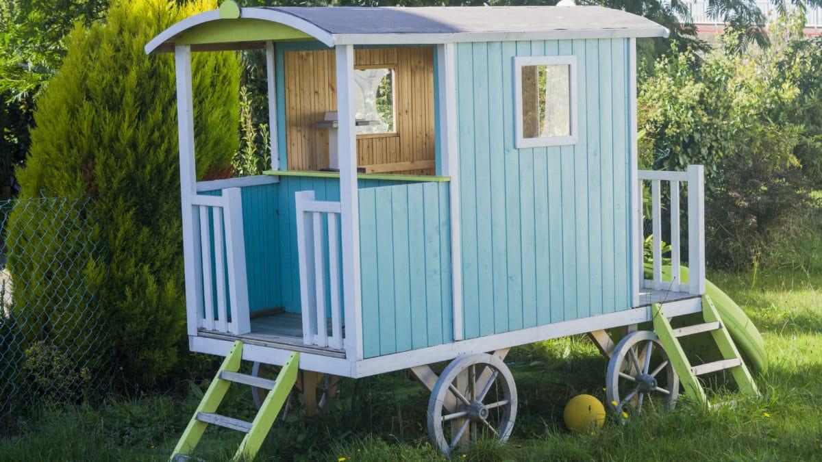 Cabane en bois pour enfant, cabane jardin enfant – Acheter un abri de jardin pour les enfants