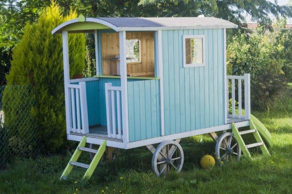 cabane à installer dans jardin