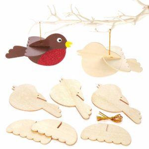 oiseaux à décorer