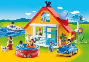 maison de vacances playmobil pour les petits