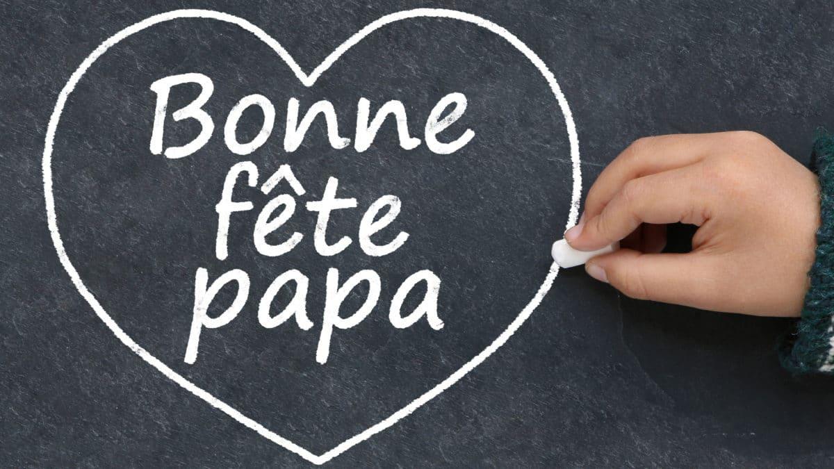 Idée bricolage pour la fête des pères : fabriquer un cadre message pour dire à son papa qu'on l'aime