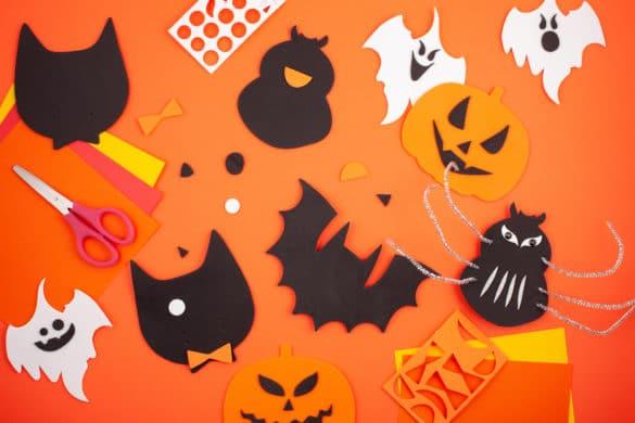 Activités manuelles Halloween avec les enfants