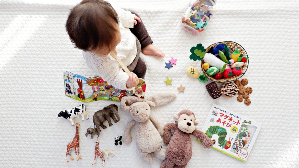 Jeux et jouets : idées cadeaux pas chers pour enfant 1 an