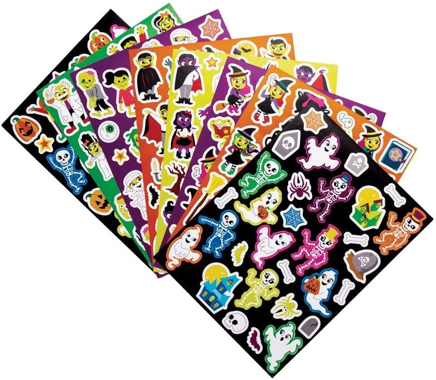 autocollants stickers halloween pour enfant