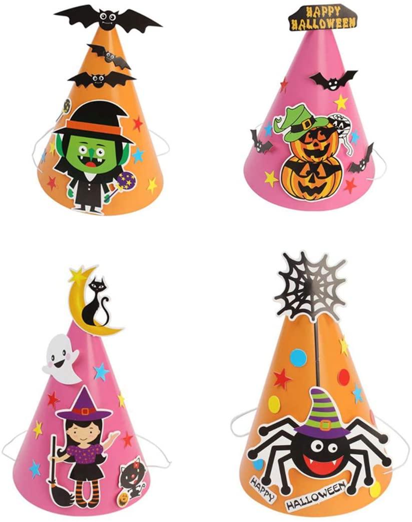 chapeau halloween pour enfant idée bricolage et activité