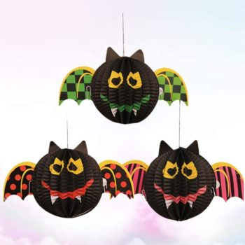 décoration en papier halloween à suspendre idee bricolage