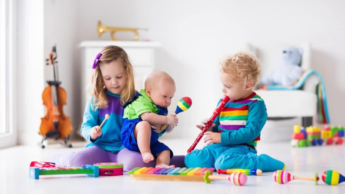 eveil musical enfant 2 ans, 3 ans, 4 ans, 5 ans, 6 ans – musique et instruments pour enfants, jeux et jouets pour écouter de la musique – jouet musique bébé et enfant