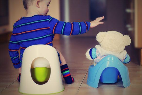 apprentissage du pot et de la propreté jeune enfant