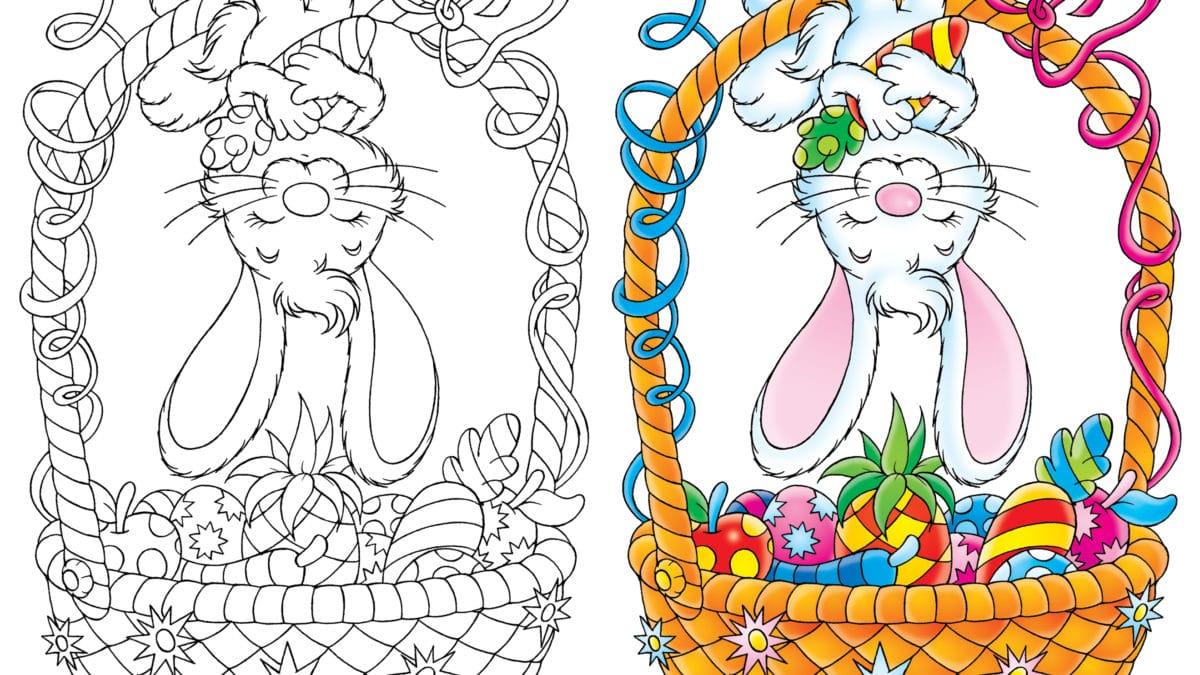 Pinterest coloriages de Pâques gratuits à imprimer