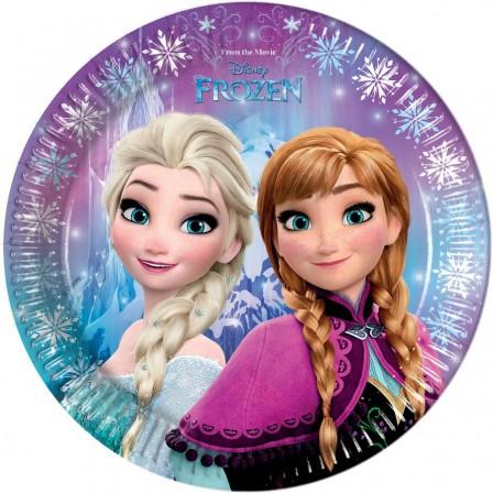 Reine des neiges, frozen, anniversaire fille : kit et decoration anniversaire reine des neiges, vaisselle et decoration de fete ; deco reine des neiges pour anniversaire enfant