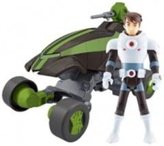 Jeux et jouets BEN 10 pour les garçons à partir de 6 ans : véhicule et figurines Ben 10 – Idée cadeau noel ou anniversaire enfant