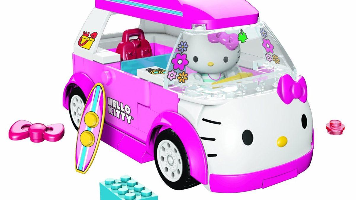Cadeau de noel ou anniversaire pour filles à partir de 4 ans : le château lumineux Hello Kitty
