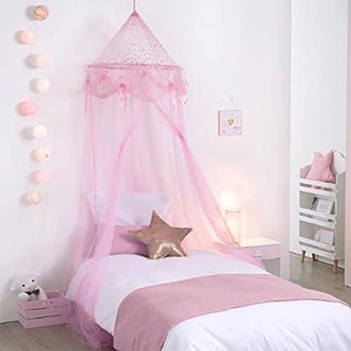 Déco de chambre de princesse : Voile de rêve « Principessa »