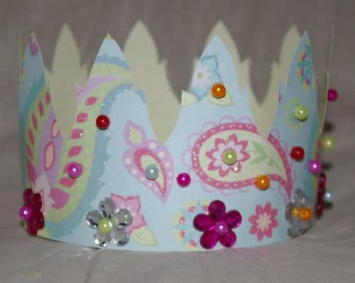 Couronne des rois pour enfants à imprimer, à découper et à décorer – Gabarit et patron de découpe couronne pour enfant