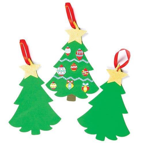 Activités bricolage de Noël : idée bricolage enfants pour famille, école et assistante maternelle – Décoration sapin de Noël