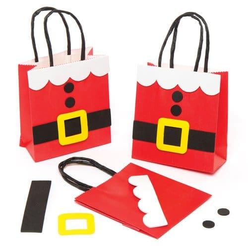 Noel : fabriquer un sac d'emballage de cadeau original – bricoler et préparer noël avec les enfants