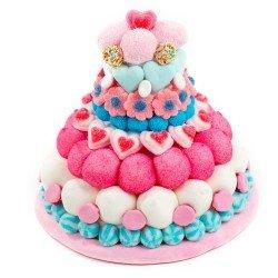 Une idée de cadeau originale pour un ado (fille ou garçon) gourmand : le gâteau de bonbon – Idée de cadeau pour ado