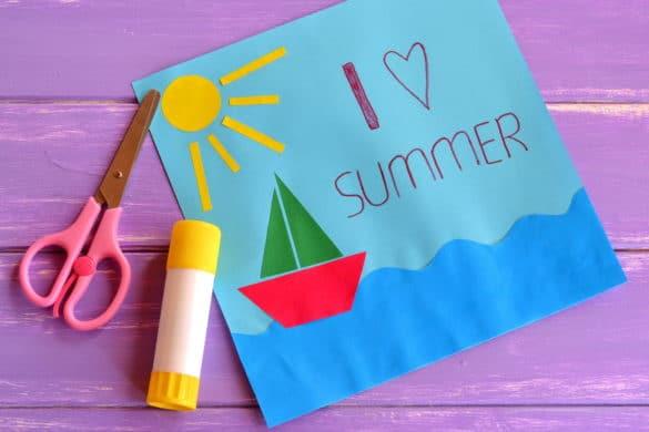 bricolage vacances et été avec les enfants