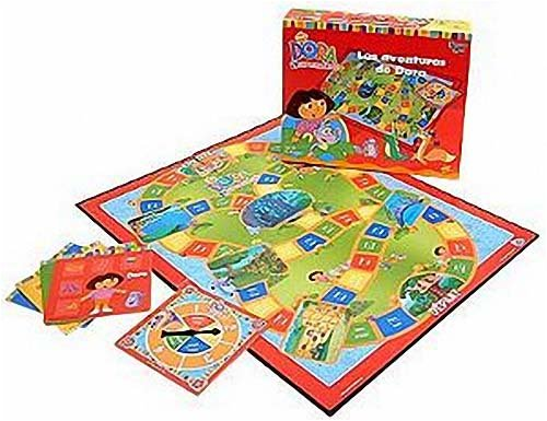 Une idée pour offrir un cadeau à une fille de 4 ans : le jeu de société les aventures de Dora l'exploratrice