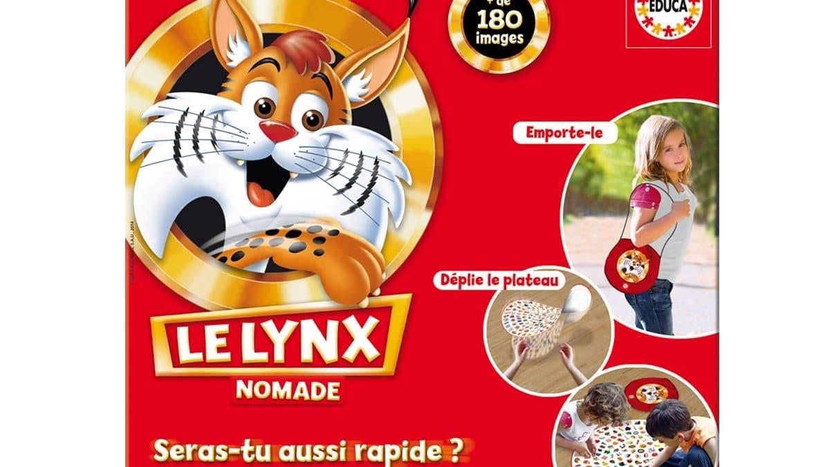 Cadeau de noel enfant fille ou garçon 4 ans, 5 ans, 6 ans et plus : jeu de société d'observation Lynx Disney
