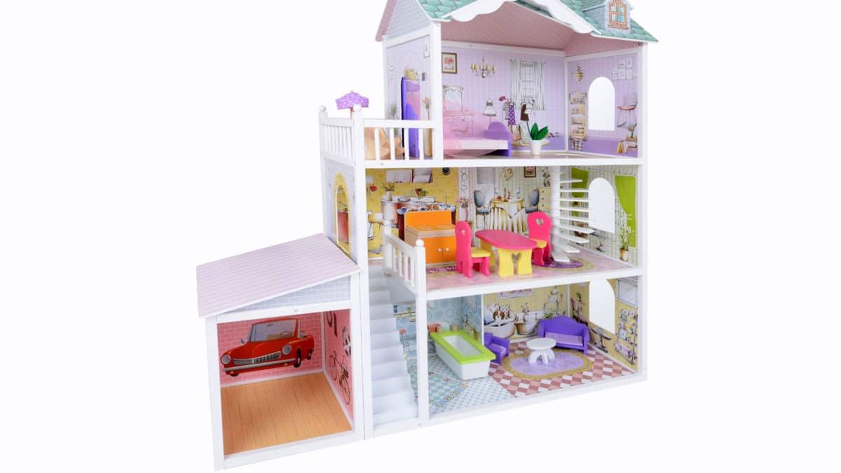 Maison de poupee, jeux et jouets pour enfant, cadeau pour fille 3 ans, 4 ans, 5 ans, 6 ans, 7 ans, 8 ans et plus