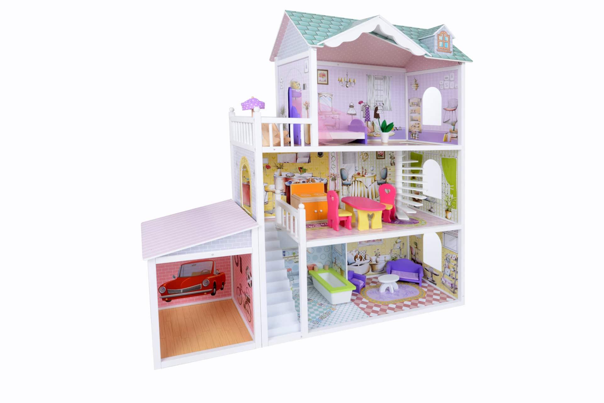 Chambre Petite Fille 3 Ans maison de poupee, jeux et jouets pour enfant, cadeau pour