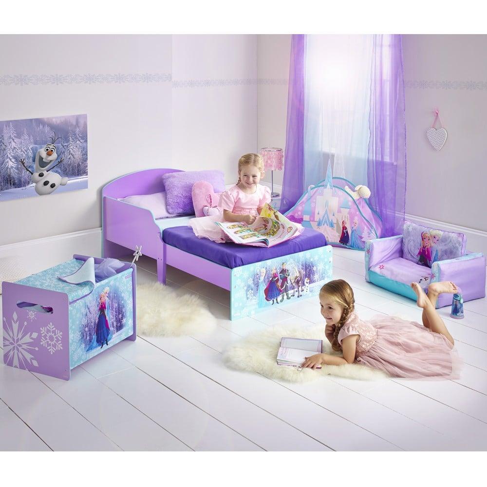 Reine des neiges, Frozen : meubles chambre fille, lit reine des