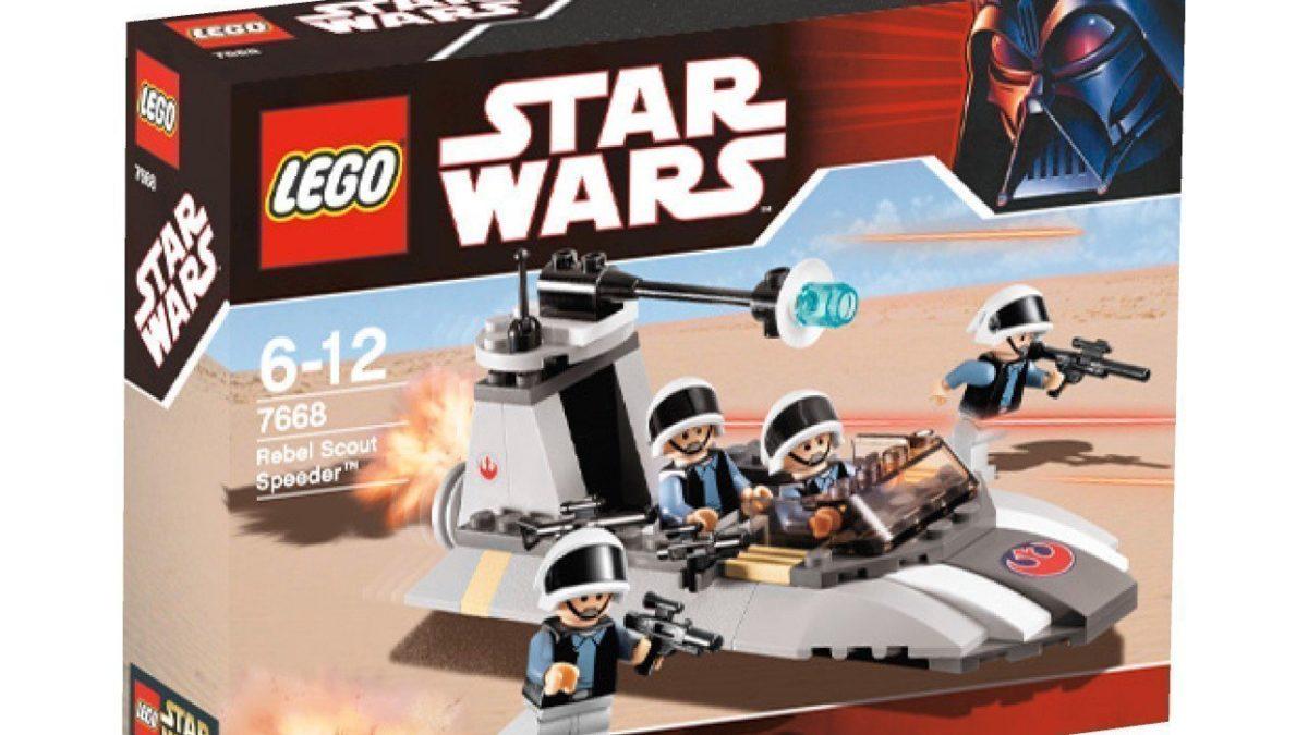 Nouveauté Lego pour passionnés de Star wars : Rebel Scout Speeder, une idée de cadeau pour enfant à partir de 6 ans