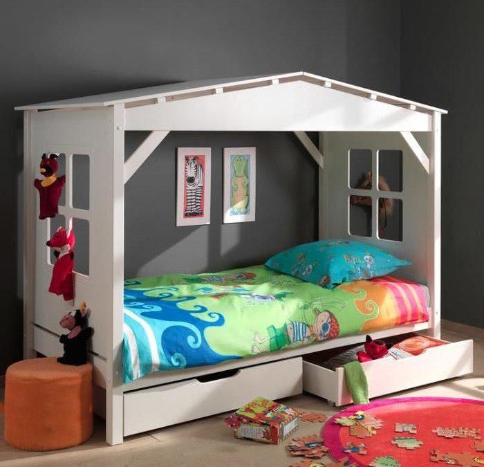 Chambre fille et lit cabane – Décorer, meubler la chambre d'une fille – LIt enfant fille