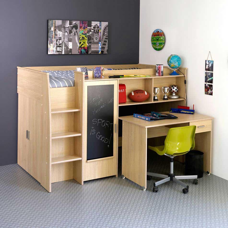 lit combin blanc pour chambre d 39 enfant pas cher lit. Black Bedroom Furniture Sets. Home Design Ideas