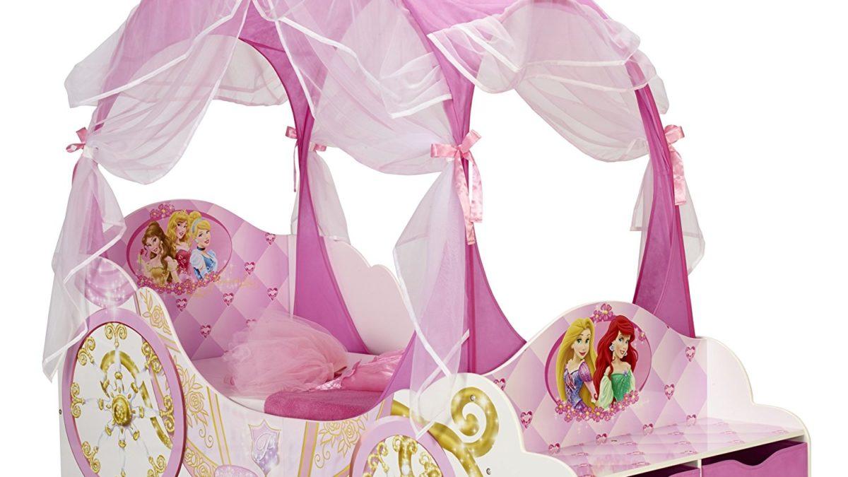 decoration et mobilier chambre de fille : Baldaquin Lit Princesse – Déco enfant chambre de princesse