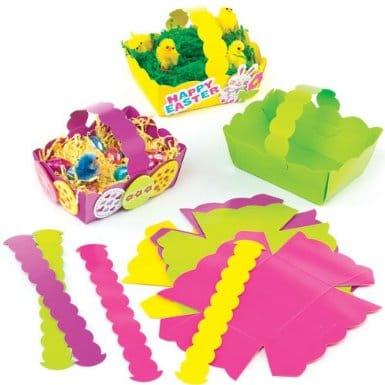 Pâques – Loisirs créatifs et activités manuelles avec les enfants : fabriquer une jolie couronne pour Pâques – Bricolage pour Pâques