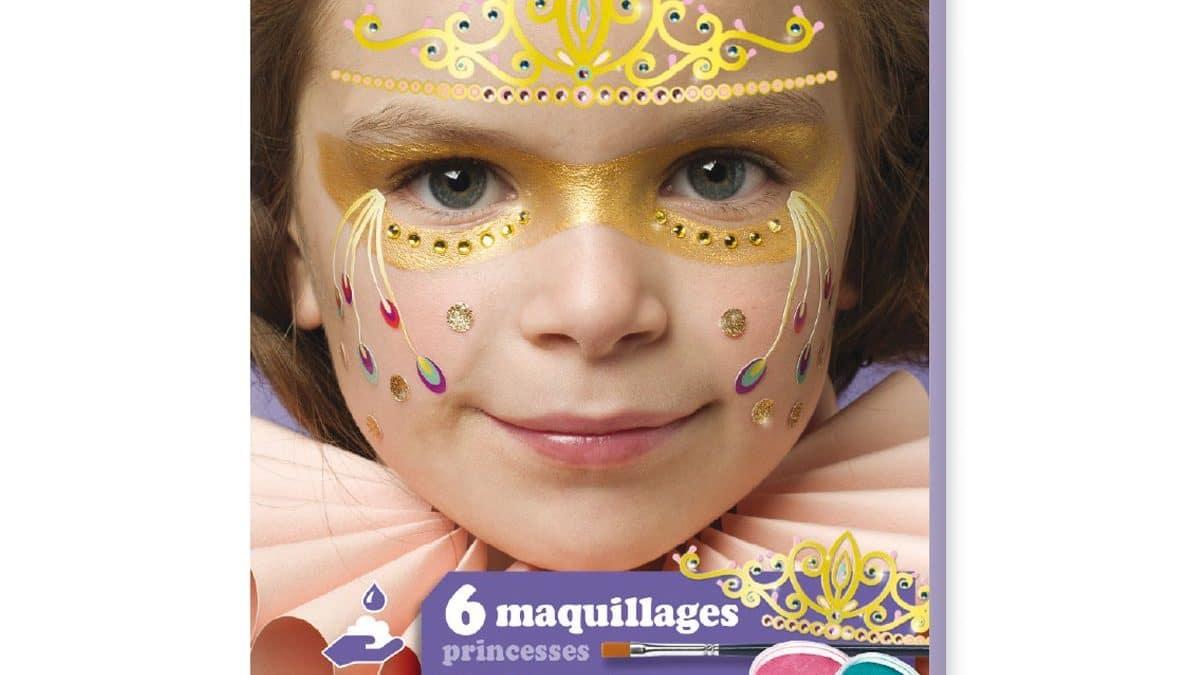 Maquillage facile pour le carnaval – Maquiller le visage d'un enfant sans savoir dessiner – Maquiller enfant pour le carnaval