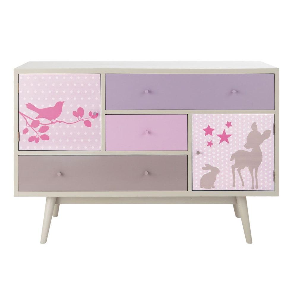 Jeux Rangement De La Maison meuble bas, rangement chambre fille - meuble original pour