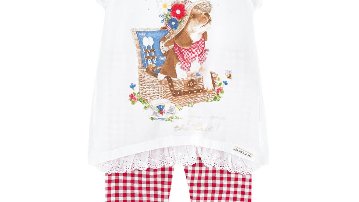 Mode printemps été, nouvelle collection pour les petites filles 3 ans, 4 ans, 5 ans, 6 ans, 7 ans, 8 ans, 9 ans, 10 ans – Vêtement enfant fille, ensemble tee-shirt + legging