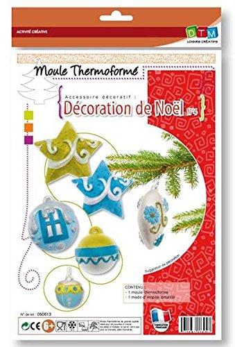 Pâte à sel, pâte à modeler ou fimo : idée de décoration de noel et création avec les enfants – Idée modelage noël