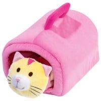 Un petit chat tout doux qui devriendra rapidement l'ami de bébé – Idée cadeau à partir de 18 mois