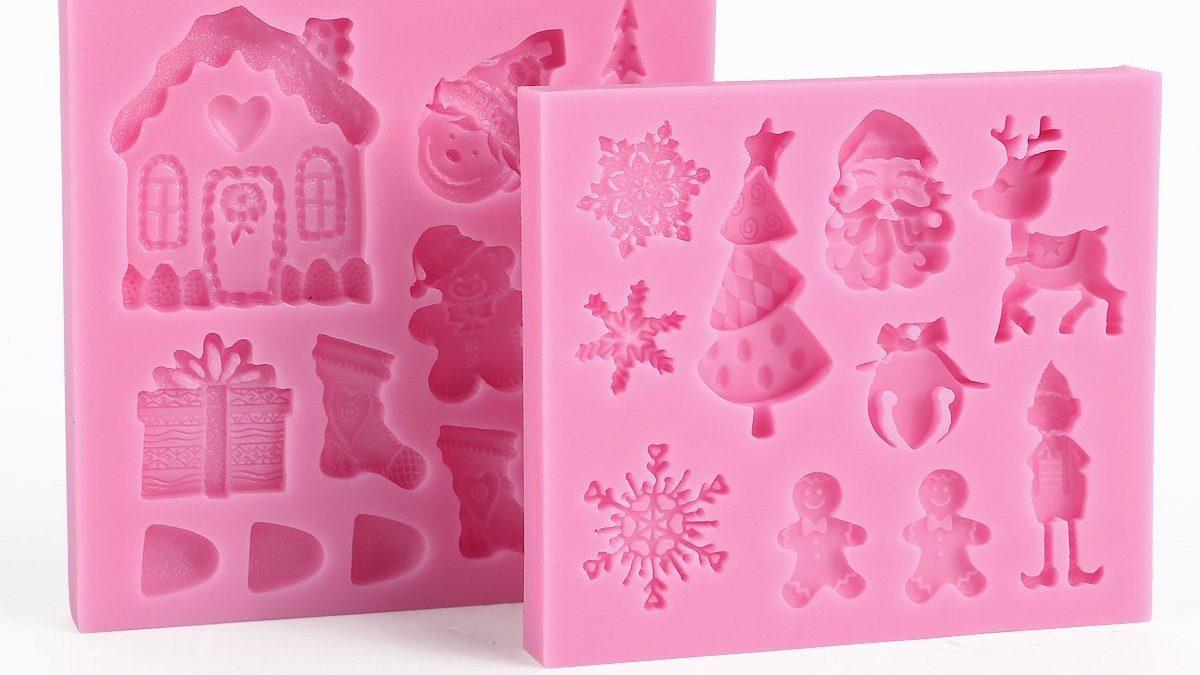 Noël, décoration de gâteau à faire soi-même avec emporte-pièce de Noël facile à utiliser ; décor de noël pour gâteau et pâtisserie