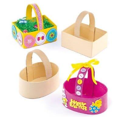 Fabriquer des decorations de table pour paques : activités manuelles et bricolage de paques avec les enfants, deco de table de paques