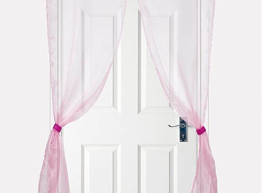 Entrée royale pour chambre de princesse : le rideau de porte de chambre de princesse