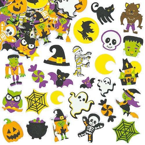 Halloween : idée et activité de bricolage pour les petits, fabriquer une citrouille avec de la mousse