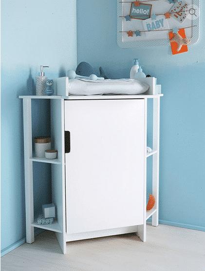 Décoration et aménagement d\'une chambre de bébé : la table à ...