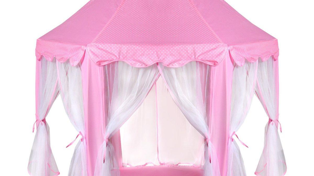 Accessoires et decoration de princesses : chambre de fille et de princesse : la tente pour enfants