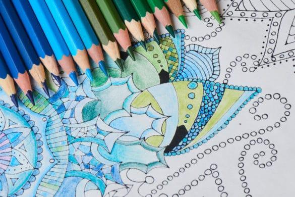 dessin anti stress à colorier