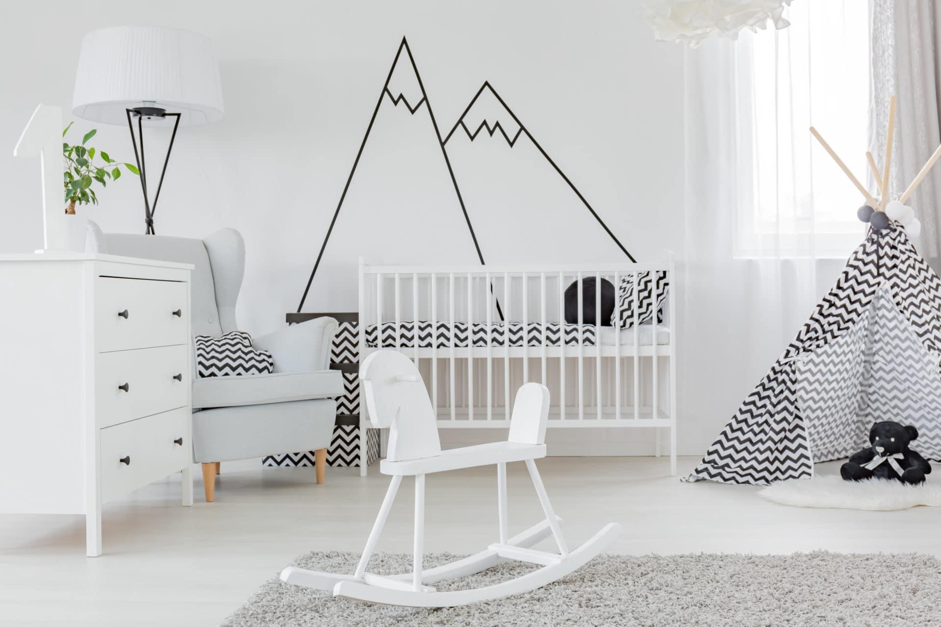 Idee De Deco Pour Chambre noir et blanc : idées déco pour chambre bébé & enfant - un