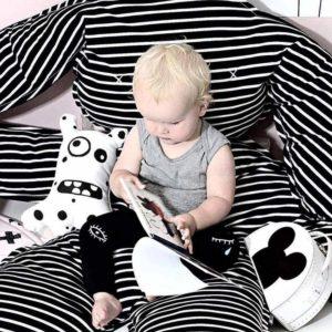 deco noir et blanche pour bébé